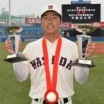 茂木栄五郎は心臓病の持病があるの?守備やバッティングについて調べた。ドラフトでは楽天や中日が指名するみたい